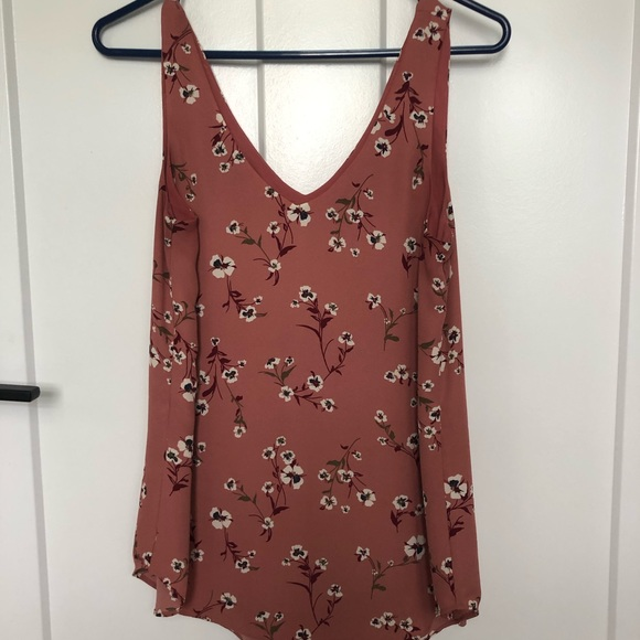 RW&CO Floral Tank Top Blouse